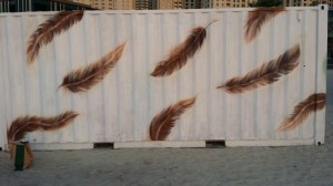 Dubai Canvas - Commissioned by The Cultural Office. JBR, Dubai. March 2015